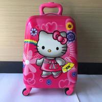 Jual Promo ! Tas Koper Travel Anak Hello Kitty 16 Inch Murah
