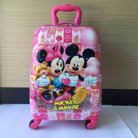 Jual Promo ! Tas Koper Travel Anak Minnie & Mickey Mouse 16 Inch Murah