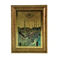 Sale Inno Foto Plakat Oslo Masjid Nabawi - Gold [5 x 7]