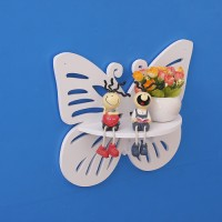 Jual MH51205 Butterfly Decorative Rack / Rak Dinding Kupu-Kupu shabby chic Murah
