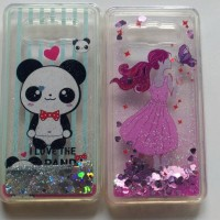 Case Water Sand Glitter Sanrio Cartoon Samsung J510 / j5 2016 / j5 6