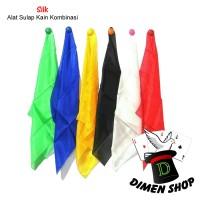 Silk 45 x 45 Cm | Alat Sulap | Kain Sulap | Kombinasi | Dimen Shop