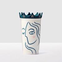 Jual Starbucks Tumbler Double Wall Ceramic - Siren Anniversary With Crown Murah