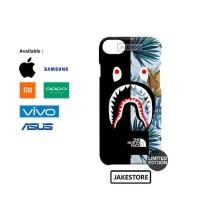 case Xiaomi redmi 3 Bape Shark The North Face Tropical hardcase