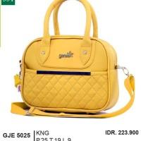 Tas Handbag Kasual  Wanita Warna KUNING [GJE5025]