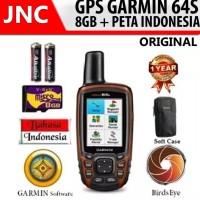 BEST GPS GARMIN 64S / GPSMAP 8GB Memory + Peta Indonesia 64 S