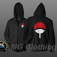 Jaket / Sweater Hoodie Zipper Klan Uchiha MG Clothing