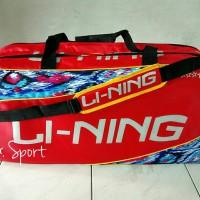 harga Tas Badminton Li-ning Thermo Hot Sprint Bintang 5 Batik Tokopedia.com