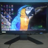 Monitor komputer pc Acer LCD 16