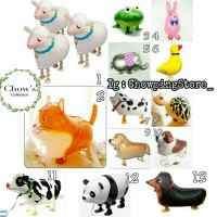 Jual Balon Foil Air Walker Animal / Airwalker Binatang / Hewan Lucu Murah