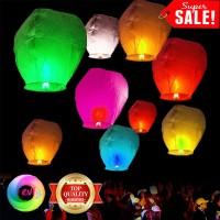 Jual Sky Lantern - Lentera Lampion Kertas - Lampion Terbang Harapan Murah
