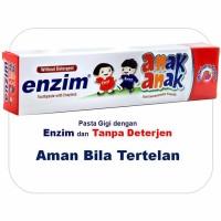 Jual Enzim Anak Strawberry [63g/ 50ml] Toothpaste/ Pasta Gigi Murah