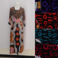 Jual Grosir Long Dress Baju Daster Pakaian Tidur Batik Pekalongan 5 pcs 1 Murah