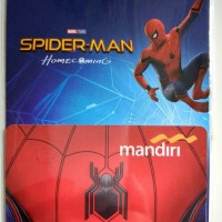 Jual E-money e money Mandiri Spiderman Homecoming Edition Murah