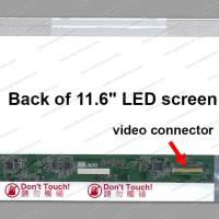Layar LED LCD Laptop Toshiba Satellite T210 Series 11.6 Tebal
