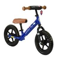 Sepeda Balance Bike - London Taxi - Kick Bike (Blue)