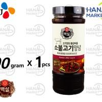 Beksul Korean BBQ Bulgogi Sauce Marinade (Saus bumbu BBQ 500g)