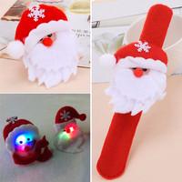 Jual (GREAT SALE) Gelang Christmas Lighting Red Santa Claus KB51810 Murah