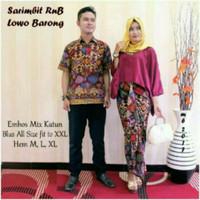 Jual Baju Couple Batik Couple Lowo Barong ( MURAH, GROSIR, KERJA ) Murah