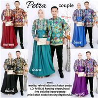 Jual Baju Couple Batik Gamis Petra  ( MURAH, GROSIR, KERJA ) Murah
