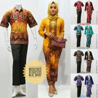 Jual Baju Couple Batik / Baju Kebaya Muslim Modern Mercedes ( MURAH, GROSIR Murah