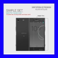 Sony Xperia XZ Premium - Nillkin Antiglare Screen Guard Antigores