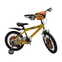 18in Pacific Hotshot Glossy BMX Sepeda Anak Laki-Laki Usia 5 - 8 Tahun