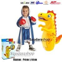 Intex 44669 Sansak Tinju Anak / Sansak Tinju 3D BOP Dino / Sansak