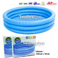 Intex 58446 Crystal Blue Pool [168cm x 38cm] / Kolam Renang Anak Besar