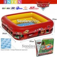 Intex 57101 Kolam Renang anak Motif Cars / Bak mandi anak Car