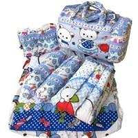 Jual Tas Gendongan Bantal Guling Alas Tidur bayi Set 4 in 1 Merk Chekiddo Murah