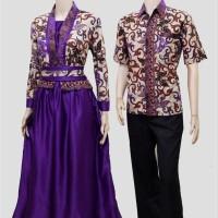 harga Couple Batik Sarimbit Gamis Baju Pasangan Pesta Seragam Srg 302 Tokopedia.com