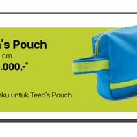 Jual Teen Pouch Original / Ori Tupperware (Tas Tangan ) Murah