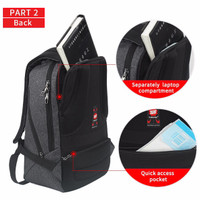 harga Backpack Anti Maling Tas Anti-theft Tigernu T-b3164 Usb - 14