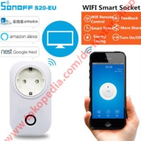 Sonoff Wireless Remote Control Timer / Smart WIFI Socket [SMART HOME]
