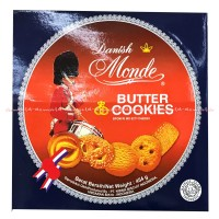 Danish Monde Butter Cookies Biskuit Kaleng 5 Macam Kue Kering 454gr