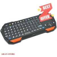 Keyboard Bluetooth Mini Android Laptop dengan Touchpad & Mouse Merk QQ