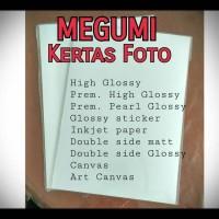 Megumi Glossy Sticker 120um A4 Photo Paper