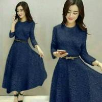 harga Long Dress / Baju Pesta / Dress Brokat Tokopedia.com