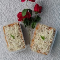 Makaroni skutel kukus/Macaroni schotel kukus