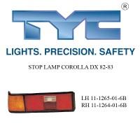 STOP LAMP COROLLA DX 82-83 LH