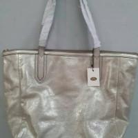 tas kulit fossil sydney shopper tote bag original murah