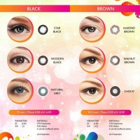 SOFTLENS TUTTY FRUITY ALMOD BROWN
