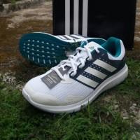 Sepatu Lari Original Adidas Duramo 7 M Running White Grey