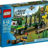 Lego 60059 City : Logging Truck