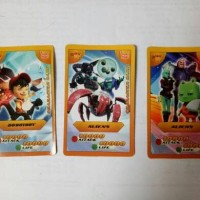 Kartu Choki Choki AR Boboiboy Super Rare Card