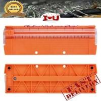 Paper Cutting Trimmer Portable - Pemotong Kertas Portable (Orange)