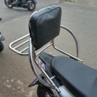 harga Promo 2 Hari Dudukan Jok Motor Busa Sandaran Bracket Crome Chrome Anak Tokopedia.com