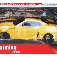 Remote Control Deformation Car Transforming Robot Bumblebee besar