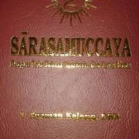 Sarasamuccaya bahasa sansekerta & jawa kuno kawi
